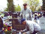 Odwiedziliśmy groby zasłużonych działaczy SITK, dn. 30.10.2009r.