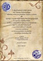 ERNEST MALINOWSKI PATRONEM TECHNIKUM NR 3 W OSTROWIE WIELKOPOLSKIM