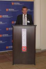 """Konferencja pt. """"Wpływ budowy Kolei Dużych Prędkości na rozwój regionów na przykładzie Aglomeracji Kalisko-Ostrowskiej"""""""