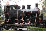 Lokomotywa w Parku Miejskim - 15.10.2009