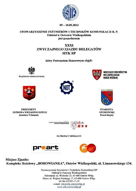 XXXI Zwyczajny Zjazd Delegatów SITK RP