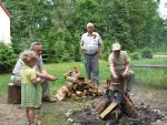 Piknik w leśniczówce